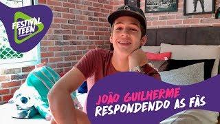 Baixar João Guilherme respondendo perguntas das fãs | Festival Teen