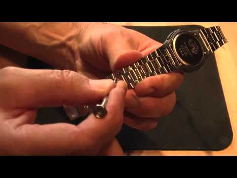 How to Remove a Link from a Watch Band.
