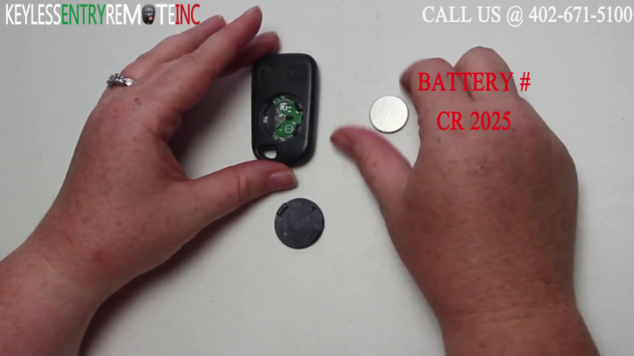 how to replace honda odyssey key fob battery 2001 2002. Black Bedroom Furniture Sets. Home Design Ideas
