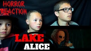 LAKE ALICE Official Trailer Reaction!!! (Christmas Horror Movie)
