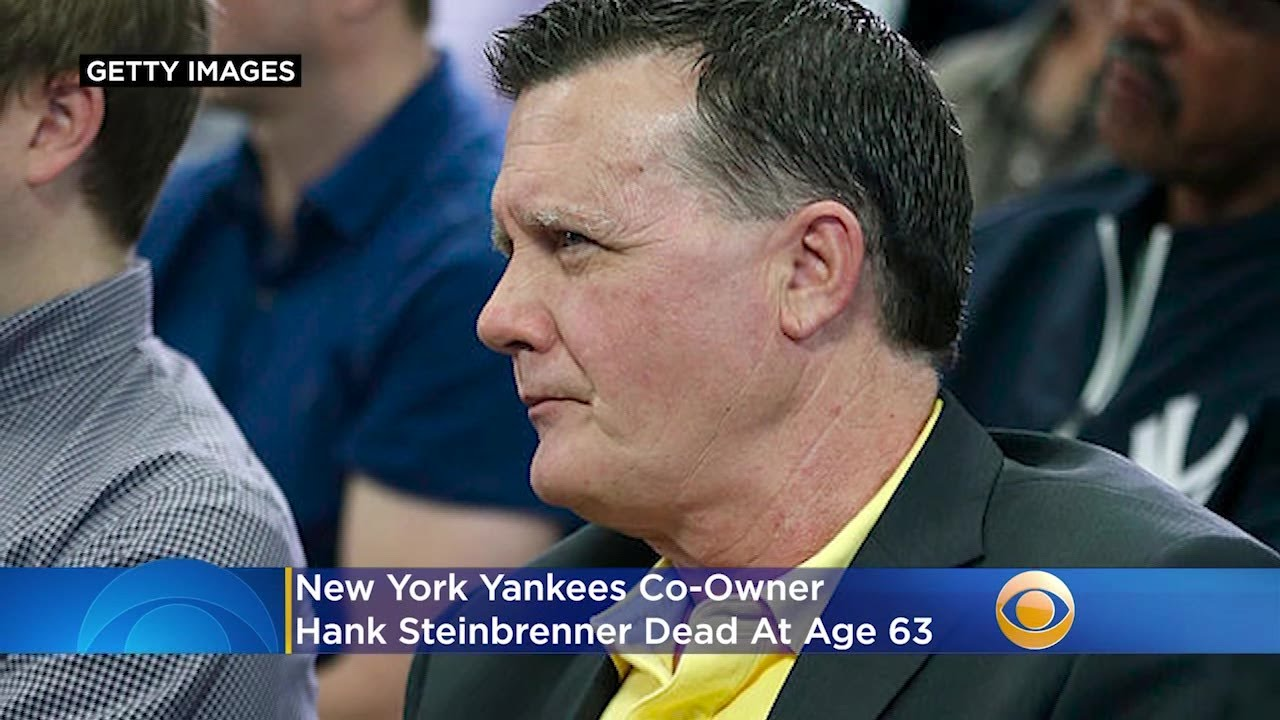 New York Yankees co-owner Hank Steinbrenner dies at 63 after ...