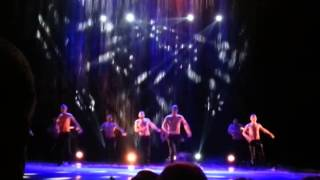 Театр танца Искушение, шоу под дождем, Барнаул 5.11.2014