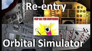 Reentry - An Orbital Simulator - Mercury, Gemini & Apollo