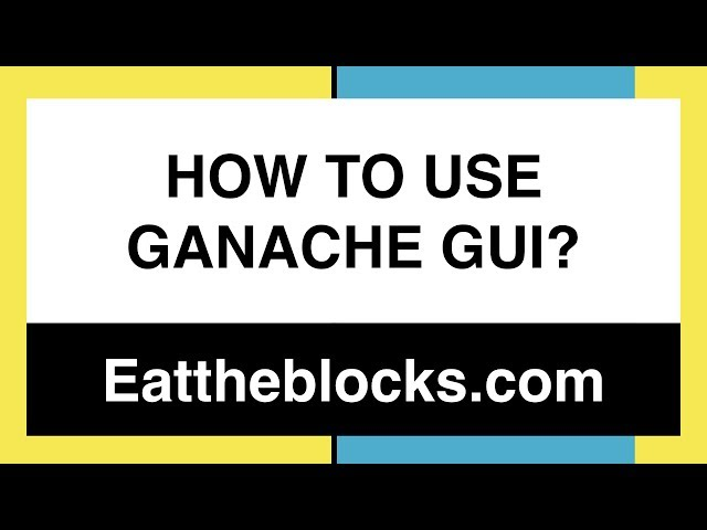 How To Use Ganache GUI With Truffle? | Ep14
