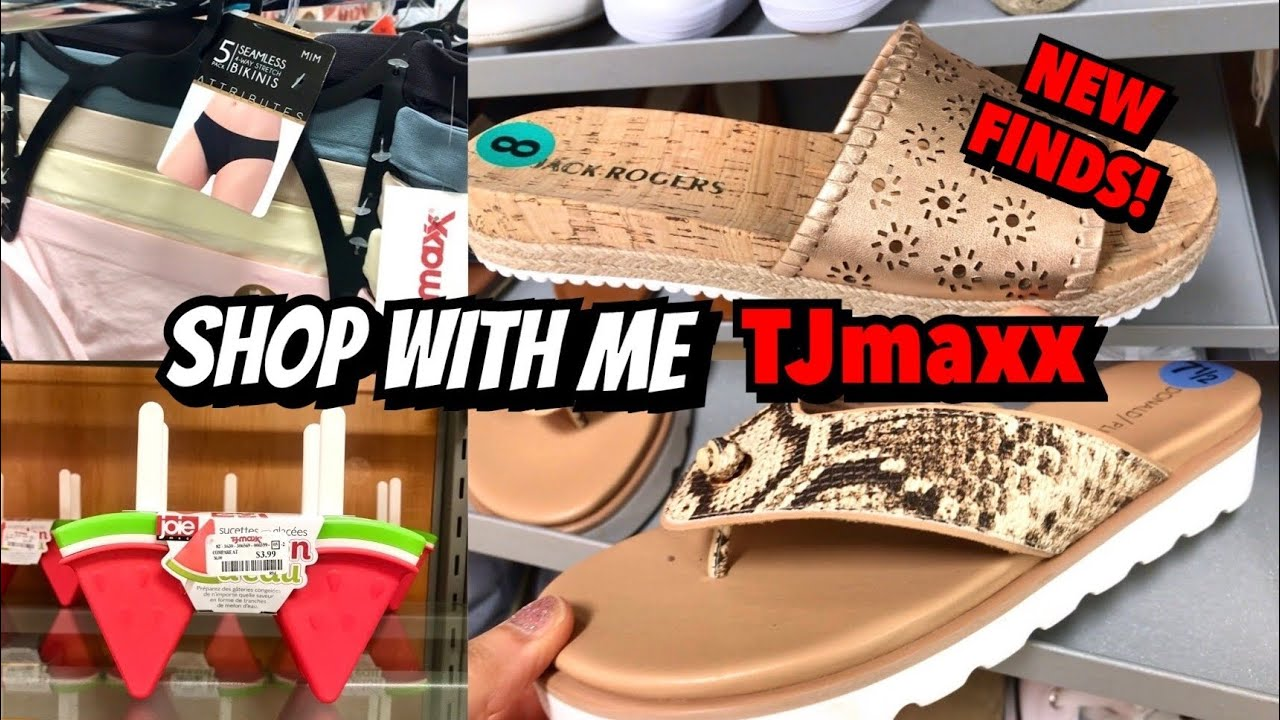 TJ MAXX SHOP WITH ME SHOES KITCHENWARE & MORE! | NEW FINDS! | VIRTUAL SHOPPING