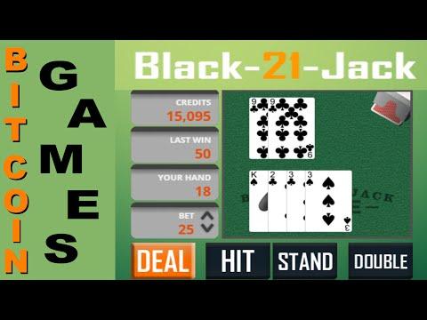 Bitcoin Black Jack на Faucet Games / Заработать биткоин с игры без вложений.