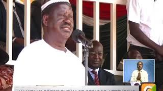 Raila Odinga's speech on Mashujaa Day