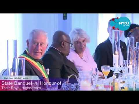 Prince Charles and Duchess of Cornwall Dance To Favourite Highlife Songs From Daddy Lumba In Ghana