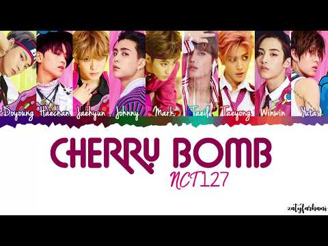 NCT 127 - Cherry Bomb Lyrics [Color Coded_Han_Rom_Eng]