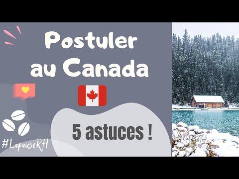 Comment trouver un emploi au Canada/Québec à partir de l'étranger ?⎜5 conseils (Immigrer Canada)