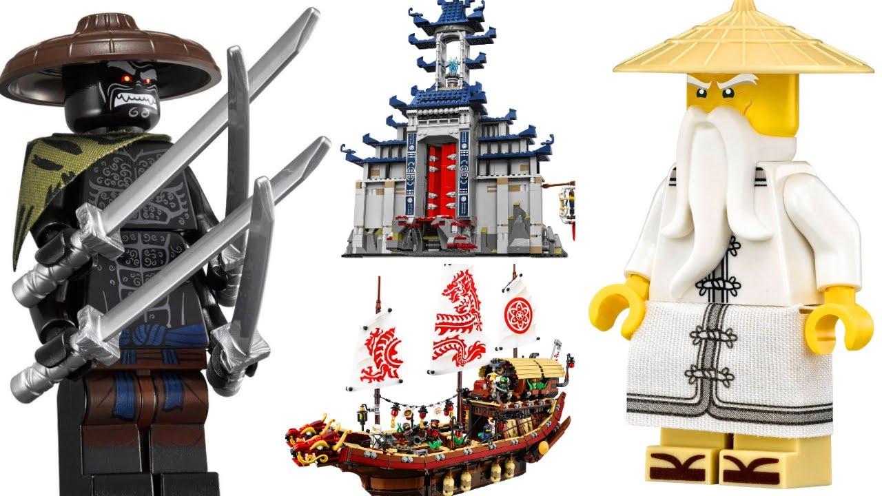 Обзор на набор лего ниндзяго