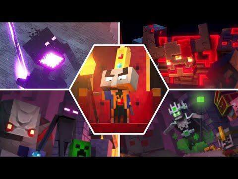 minecraft-dungeons---all-bosses-ending