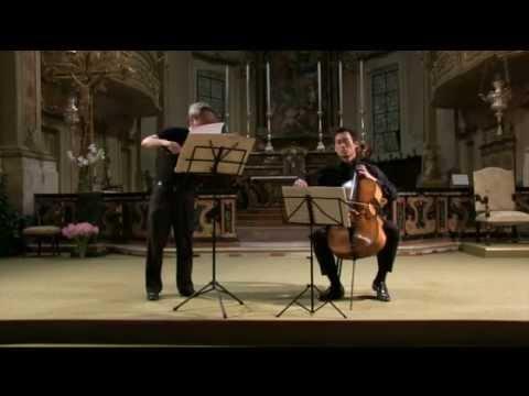 M. Ravel - Duo per violino e violoncello _ Nai Yuan Hu, violino; Sungwon Yang, violoncello