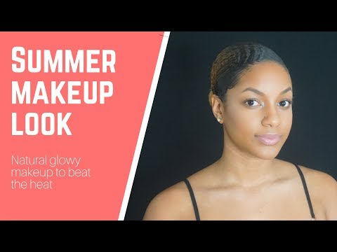 SUMMER MAKEUP Tutorial | Makeup for WOC | KierraLanice