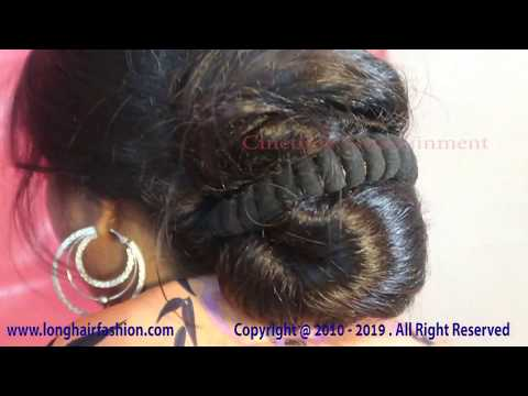 Hairstyle simple khopa Hairstyles, celebrity