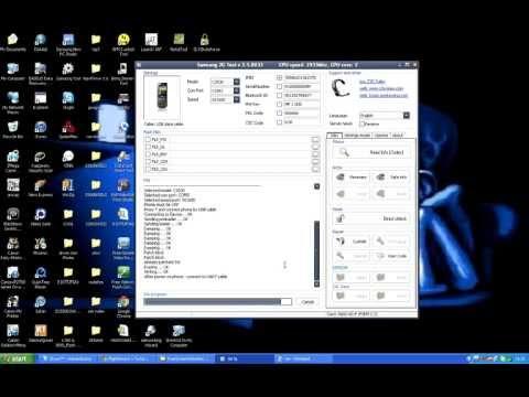 CHANGE IMEI SAMSUNG C3530 BY Z3X BOX