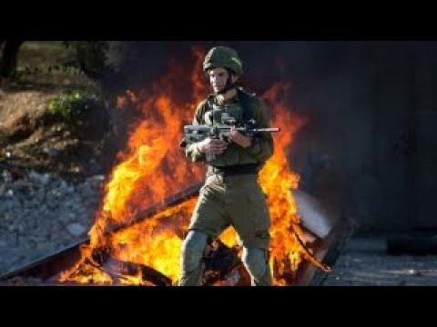 West Bank erupts in violent protests over Jerusalem decision