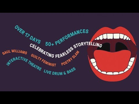 Live at the Roundhouse: Poetry Slam Final 2018