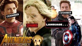 Avengers: Infinity War - Unnecessary Censorship - Hilarious Video
