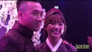 Đám cưới Trấn Thành và Hari won - Cặp đôi nổi nhất Showbiz Việt