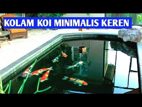 Kolam Ikan KOI Perumahan Minimalis Batu Alam Keren - KOI ...