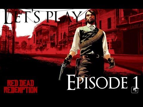 Let's play Red Dead Redemption épisode 1: monte en selle cow boy!