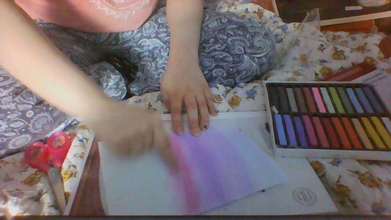 Teste De Bâtonnets De Pastel Tendre De Cher Action Youtube