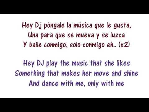 CNCO   Hey DJ   Lyrics English and Spanish   Translation & Meaning