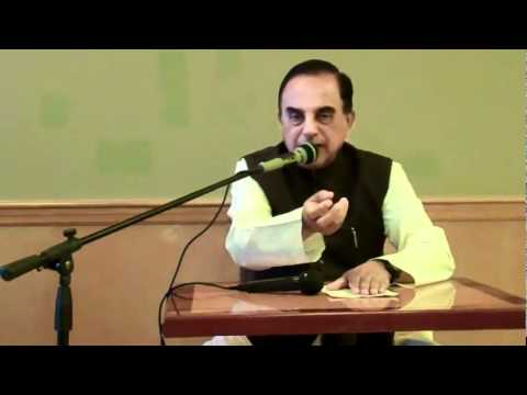 Part 4/7 - Current Political Situation In India - Subramanian Swamy in New Jersey