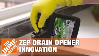 ZEP Drain Opener Innovation