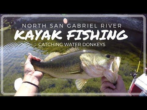 Kayak Fishing The North San Gabriel