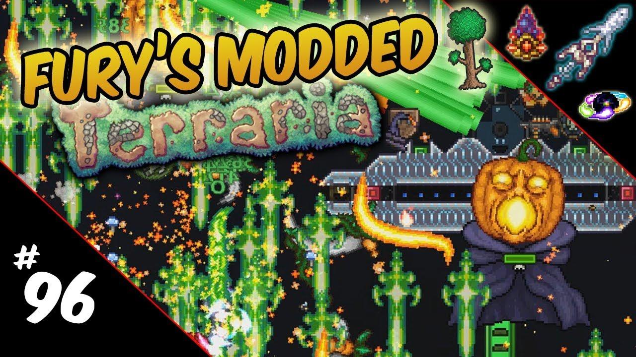 Fury's Modded Terraria   96: Candy & Chaos! : LightTube