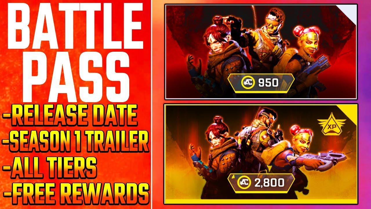 Apex Legends Battle Pass Season 1 Trailer | Release Date