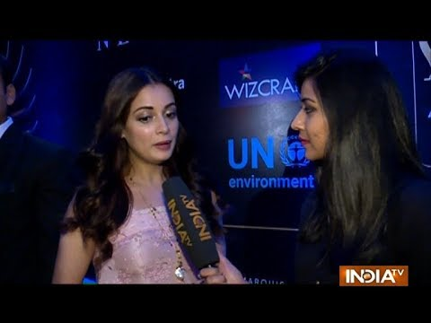 Dia Mirza to support UN Environment campaign Beat Plastic Pollution at IIFA 2018