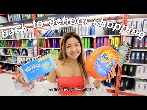 BACK TO SCHOOL SUPPLIES SHOPPING + HAUL 2019