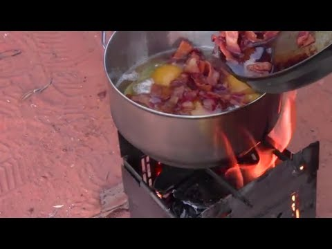 Camp Cooking Folding Firebox Style / The Best Stove For The Outdoor Gourmet
