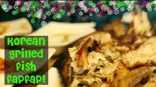 Korean Grilled Fish