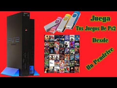 Como jugar juegos mediante una usb o pendrive en una PS2 l Facil y sencillo.En consola Fat y Slim.