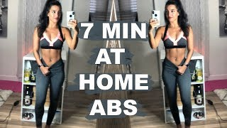 At-Home 7 Min Ab Workout!