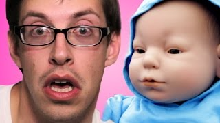 The Try Guys care for robot babies overnight and end up raising hell. The third in a special five-part series exploring motherhood. Check out more awesome ...