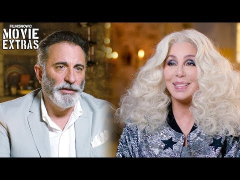 "MAMMA MIA! HERE WE GO AGAIN | On-set visit with Cher ""Ruby Sheridan"" & Andy Garcia ""Fernando"""
