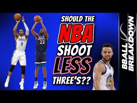 Should The NBA Shoot LESS Three's?