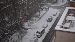 NYC Snow 1-7-2017