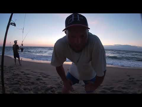 OBX LOCAL SECRET -Fishing The Surf In Duck, NC - Cheap & Easy Catch Clean & Cook