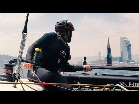 INEOS Rebels: Day 2: Act 3, Extreme Sailing Series Barcelona