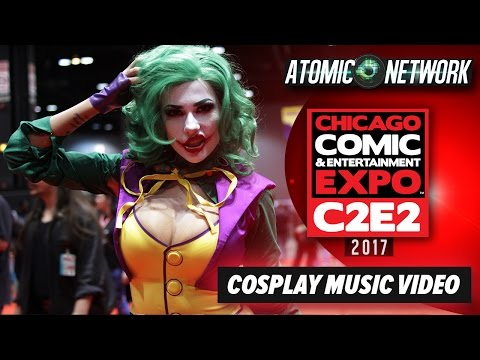 C2E2 2017 - Cosplay Music Video - Part 2