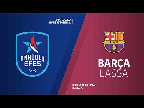 Anadolu Efes Istanbul - FC Barcelona Lassa Highlights | Turkish Airlines EuroLea