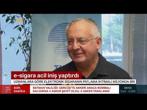 E-SİGARA ACİL İNİŞ YAPTIRDI - NTV 3 EKİM 2018