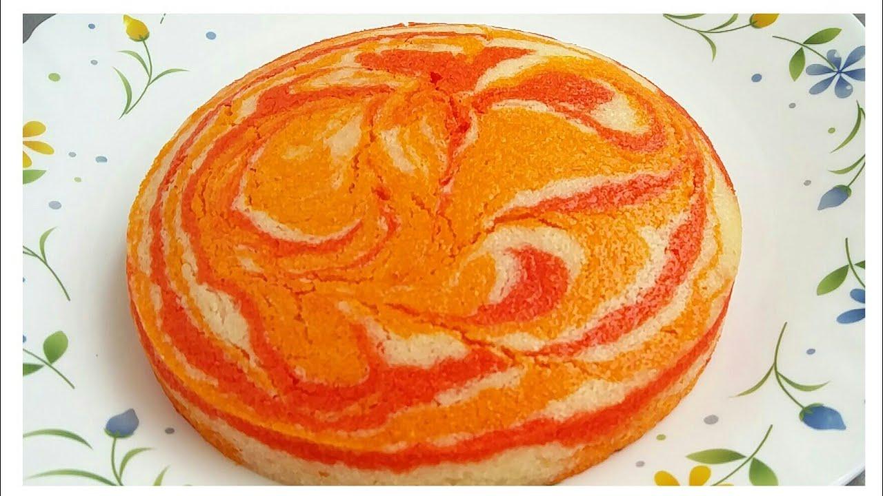 Colourful Butter Cake || Multi coloured sponge cake recipe with Easy technique ||