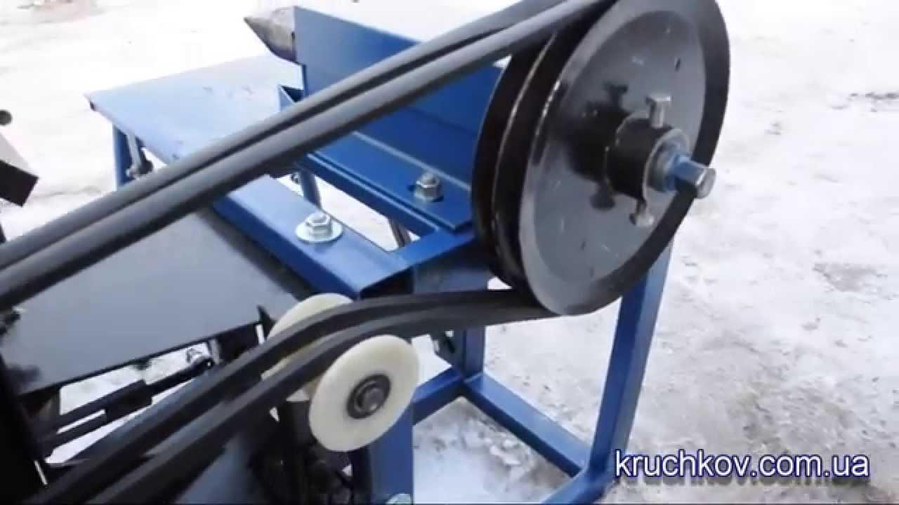 дровокол с приводом от мототрактора